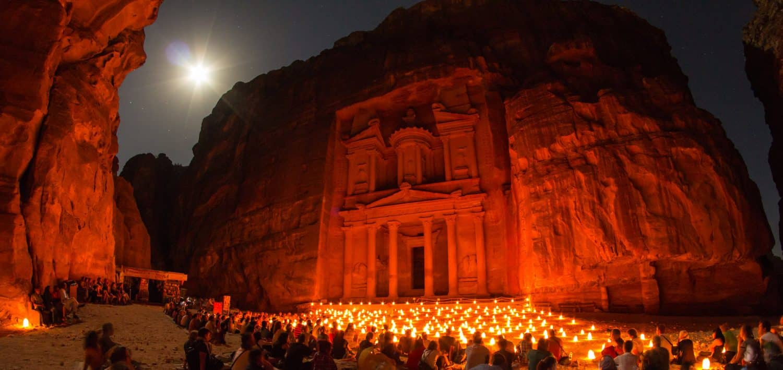 Petra by Night - Sylvain L. via Flickr