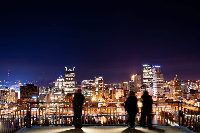 Pittsburgh at Night - John Craig via Flickr