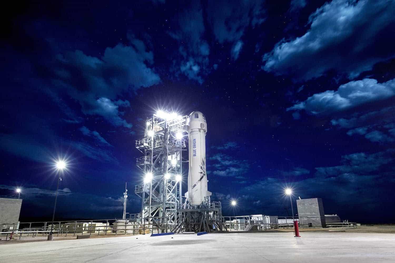 Space Tourism Companies - Blue Origin