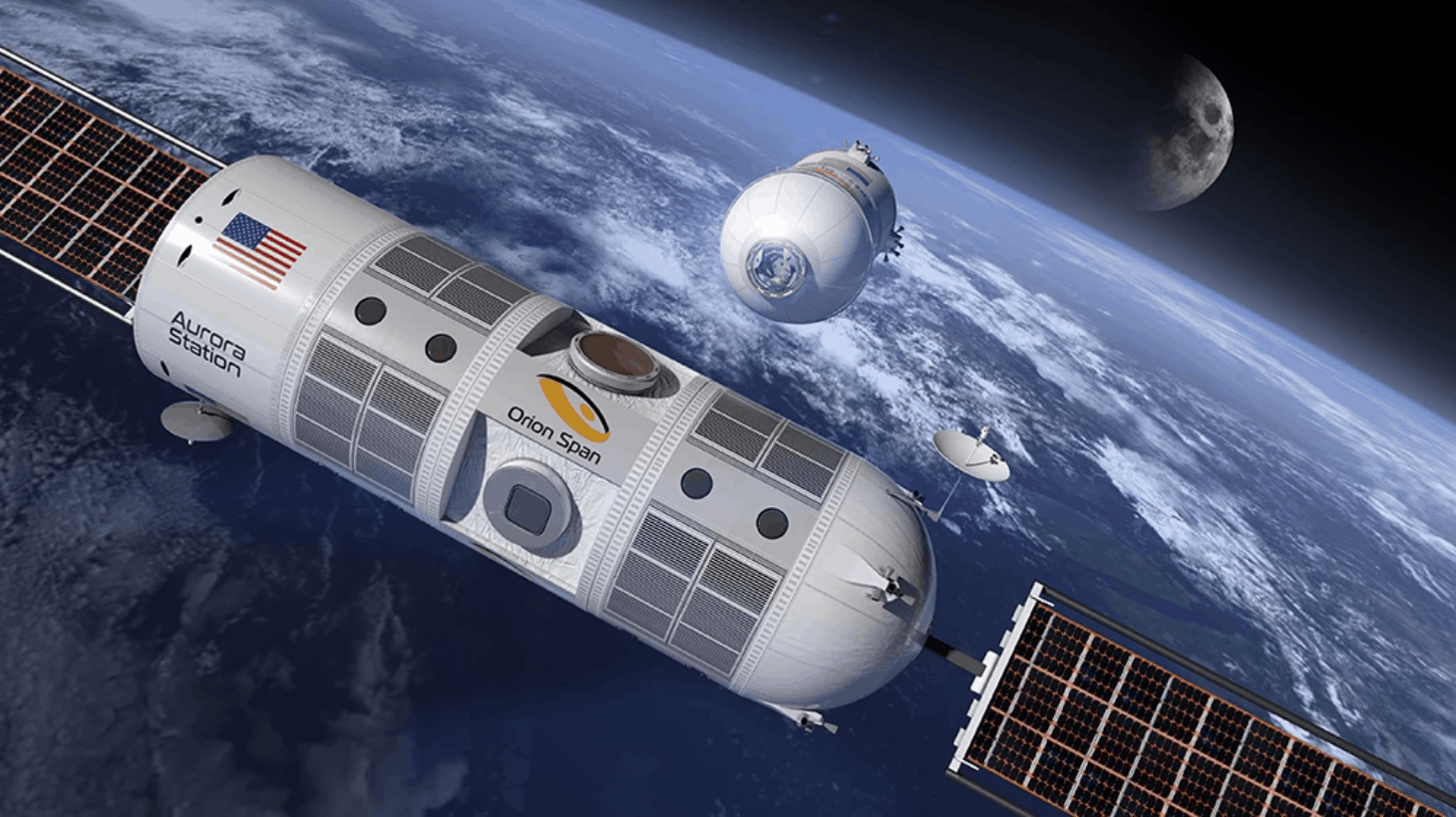 Space Tourism Companies - Orion Span - Aurora Space Station