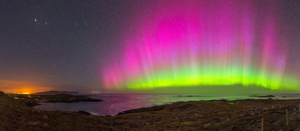 Northern Lights in Ireland - Dooey Beach - Rita Wilson for Tourism Ireland