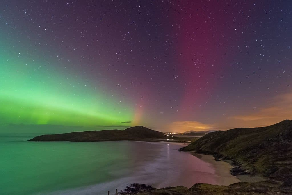 Northern Lights in Ireland - Tra na Rossan Beach - Rita Wilson for Tourism Ireland