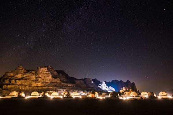 Astronomy tour to Jordan - Martian Domes in Wadi Rum