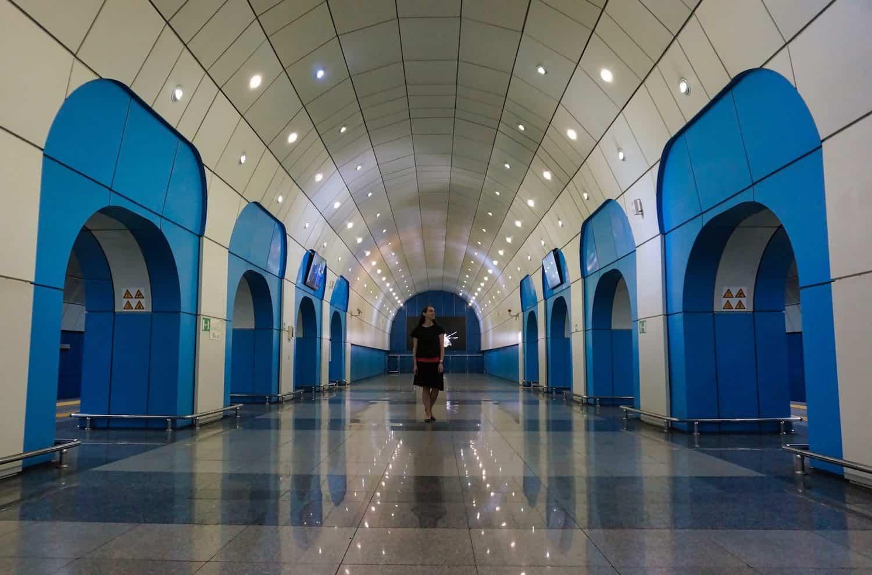 Baikonur Metro in Almaty