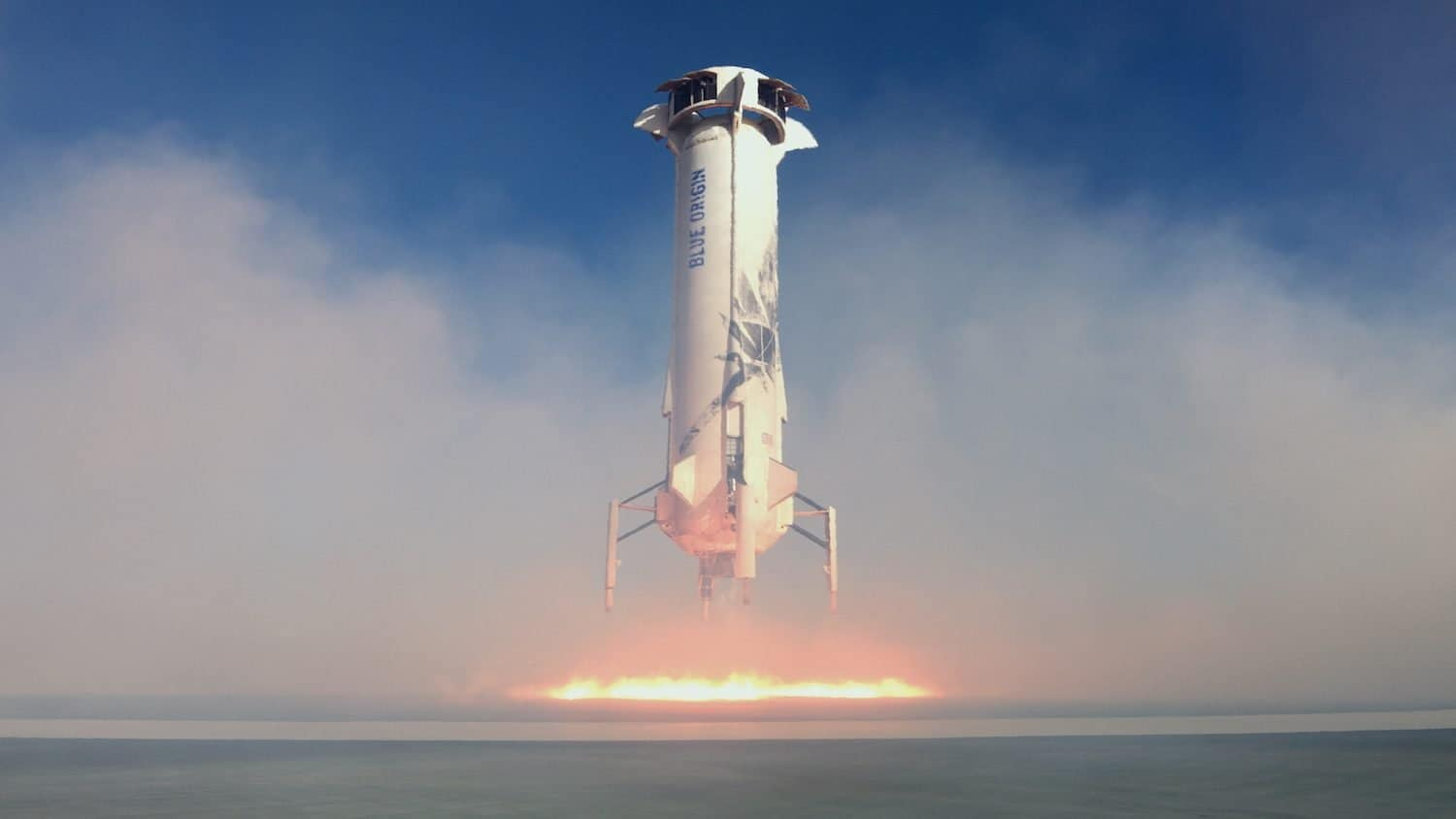 Blue Origin Company Profile - Landing