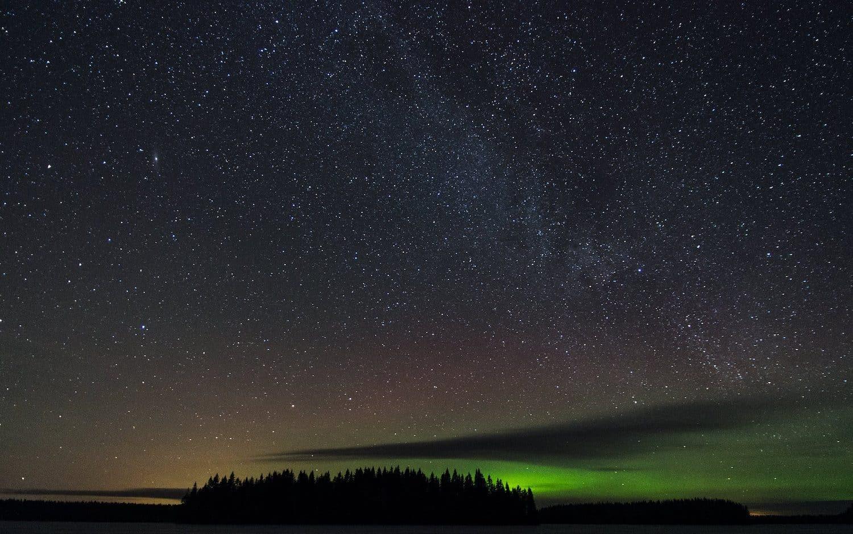 Northern Lights in Finland - Juho Holmi via Flickr