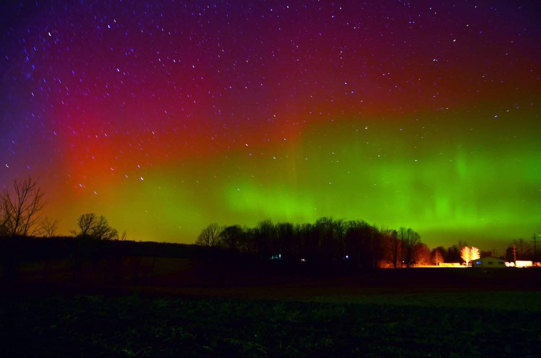 Northern Lights in Michigan - gerrybuckel via Flickr