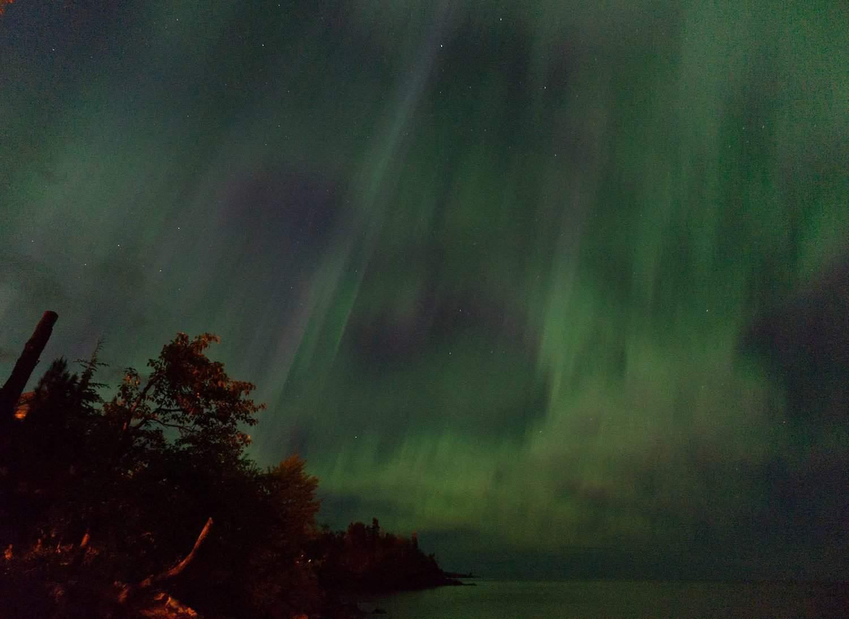 Northern Lights in Minnesota - Rob Pongsajapan via Flickr