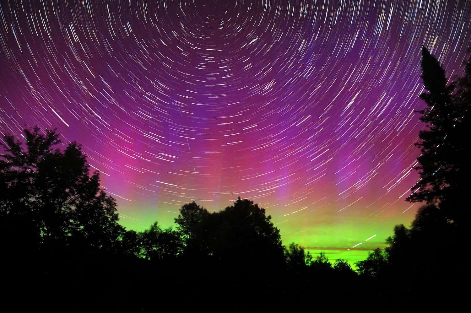Northern Lights in the USA - Mike Lewinski via Flickr