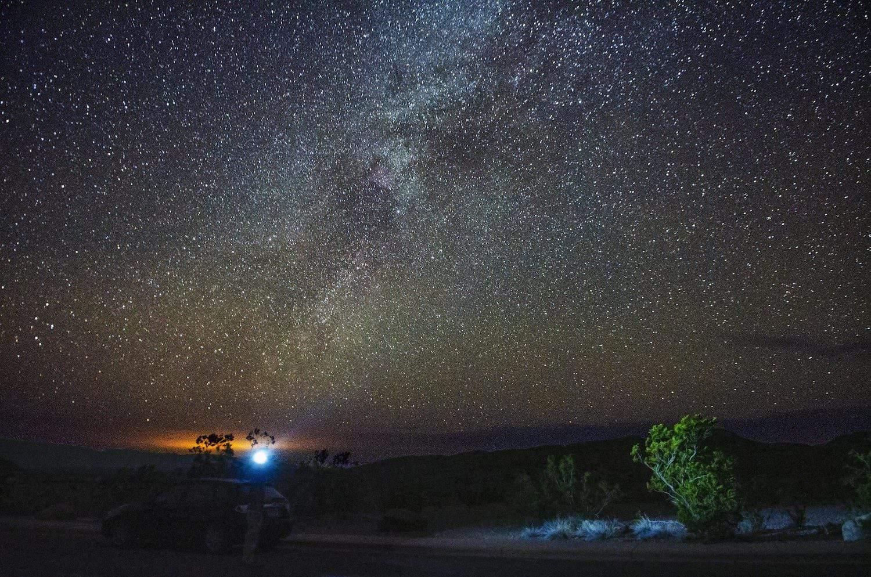 Stargazing in Big Bend - Vincent Lock via Flickr