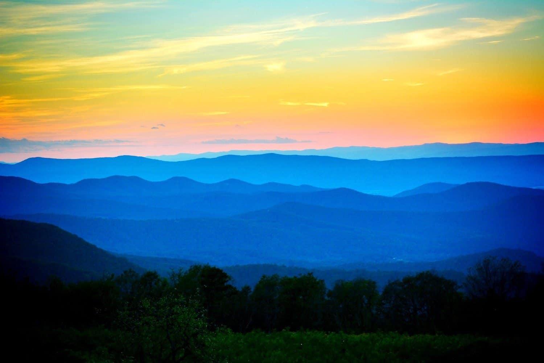 Shenandoah National Park - Hughes River Overlook - Matthew Benson via Flickr