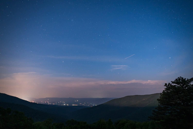 Shenandoah National Park at Night - Jeremys Run Overlook - John Brighenti via Flickr
