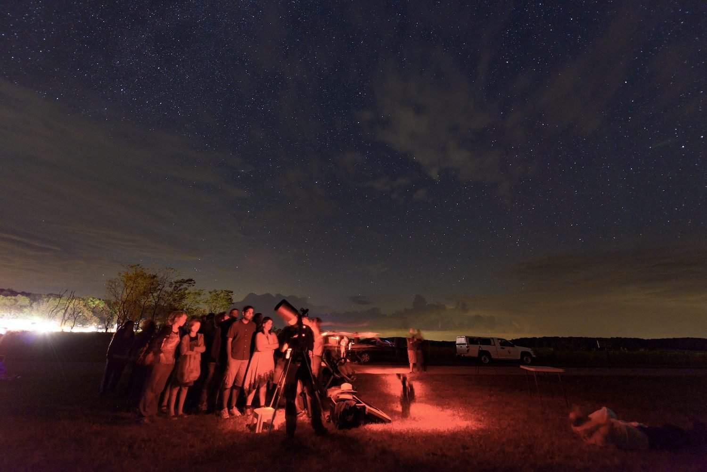 Shenandoah National Park at Night - Mary O'Neill for NPS