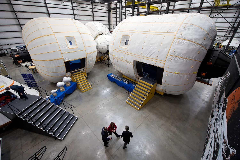 Bigelow Aerospace - NASA/Bill Ingalls