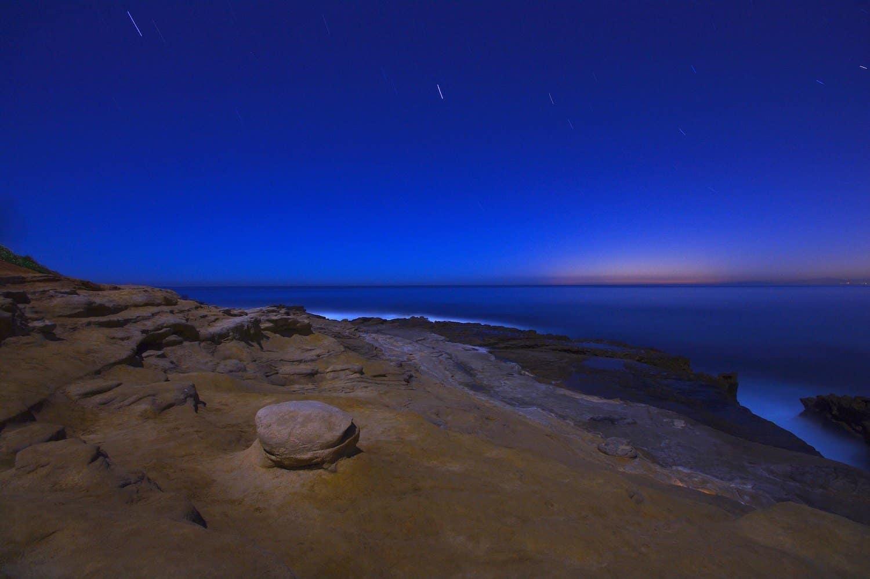Stargazing in San Diego - Ocean Beach - R.E. Barber Photography via Flickr