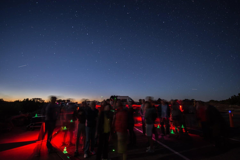 Canyonlands Stargazing - NPS:Chris Wonderly