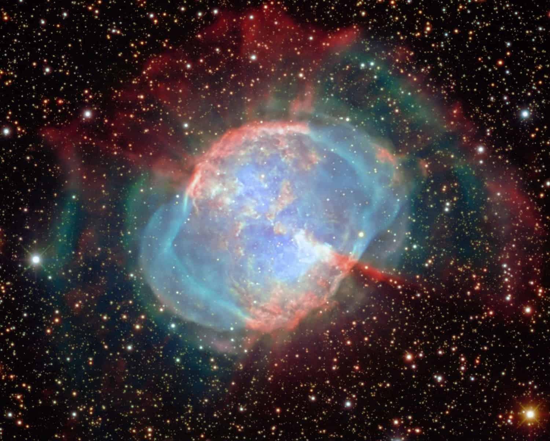 Messier 27 - Giuseppe Donatiello via Flickr