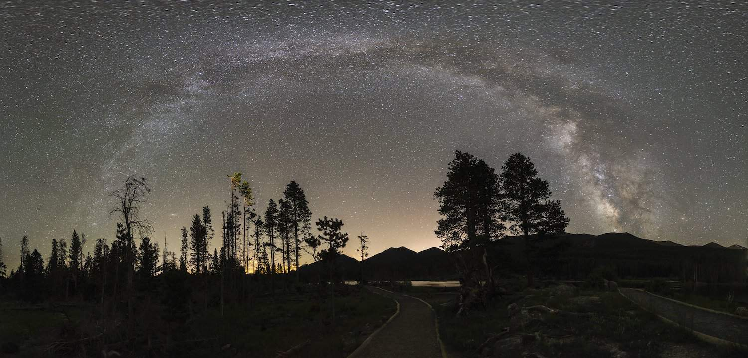 Stargazing in Colorado - Rocky Mountain National Park - Jeremy M. White for NPS