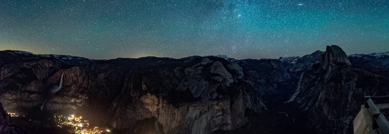 Yosemite Stargazing - Glacier Point