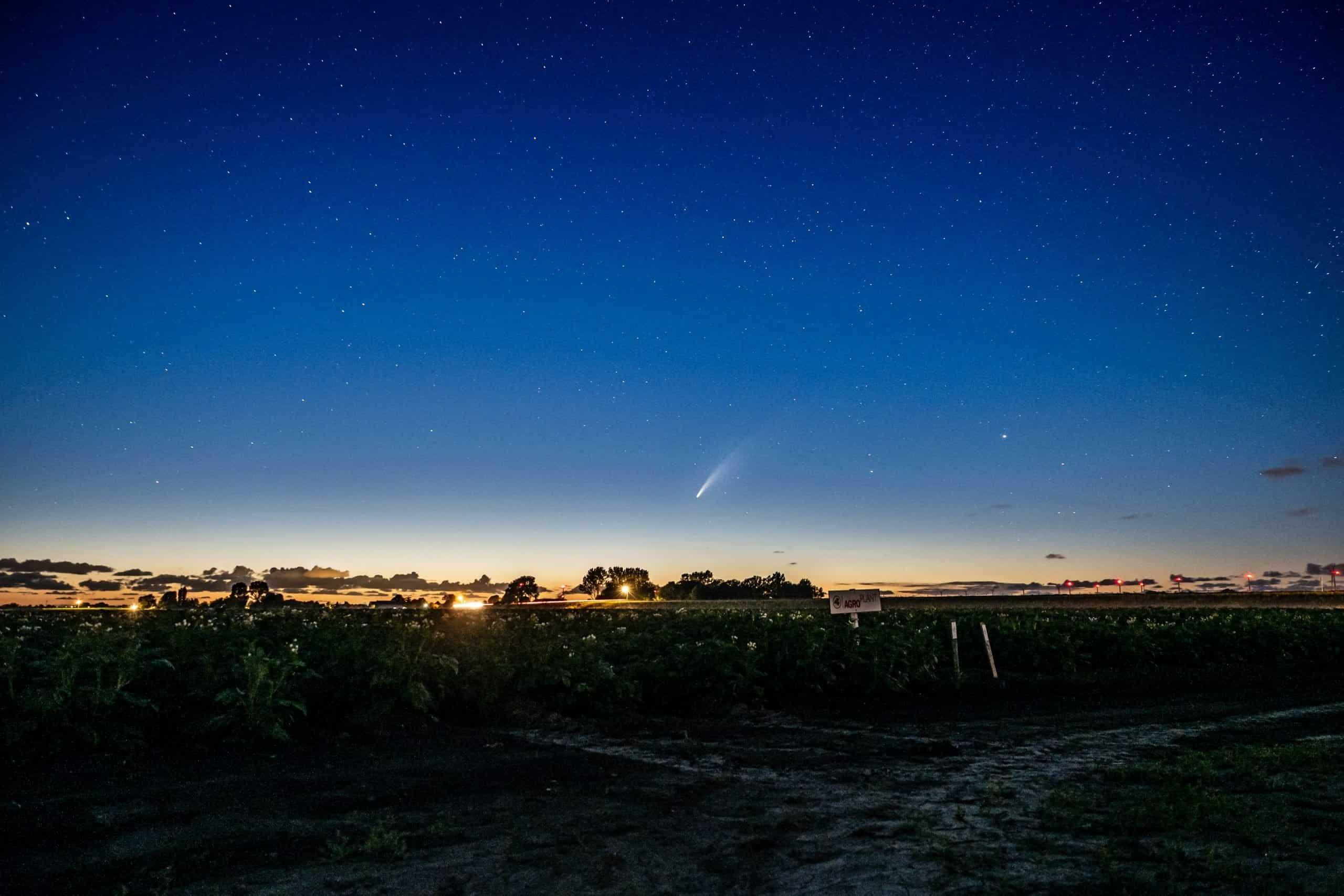 Comet NEOWISE Hero