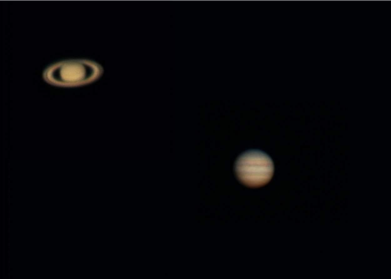 Great Conjunction of Jupiter & Saturn