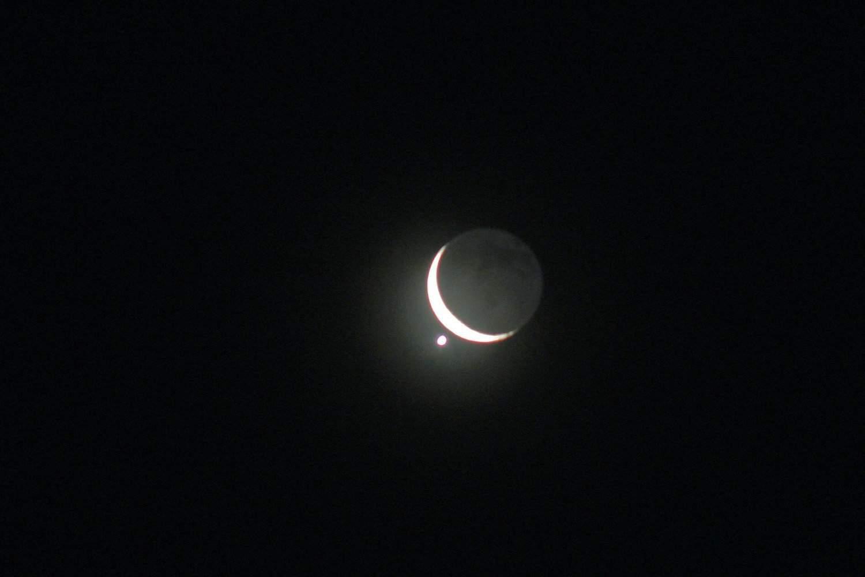 2021 Night Sky - Lunar Occultation of Venus - Raymond Shobe via Flickr