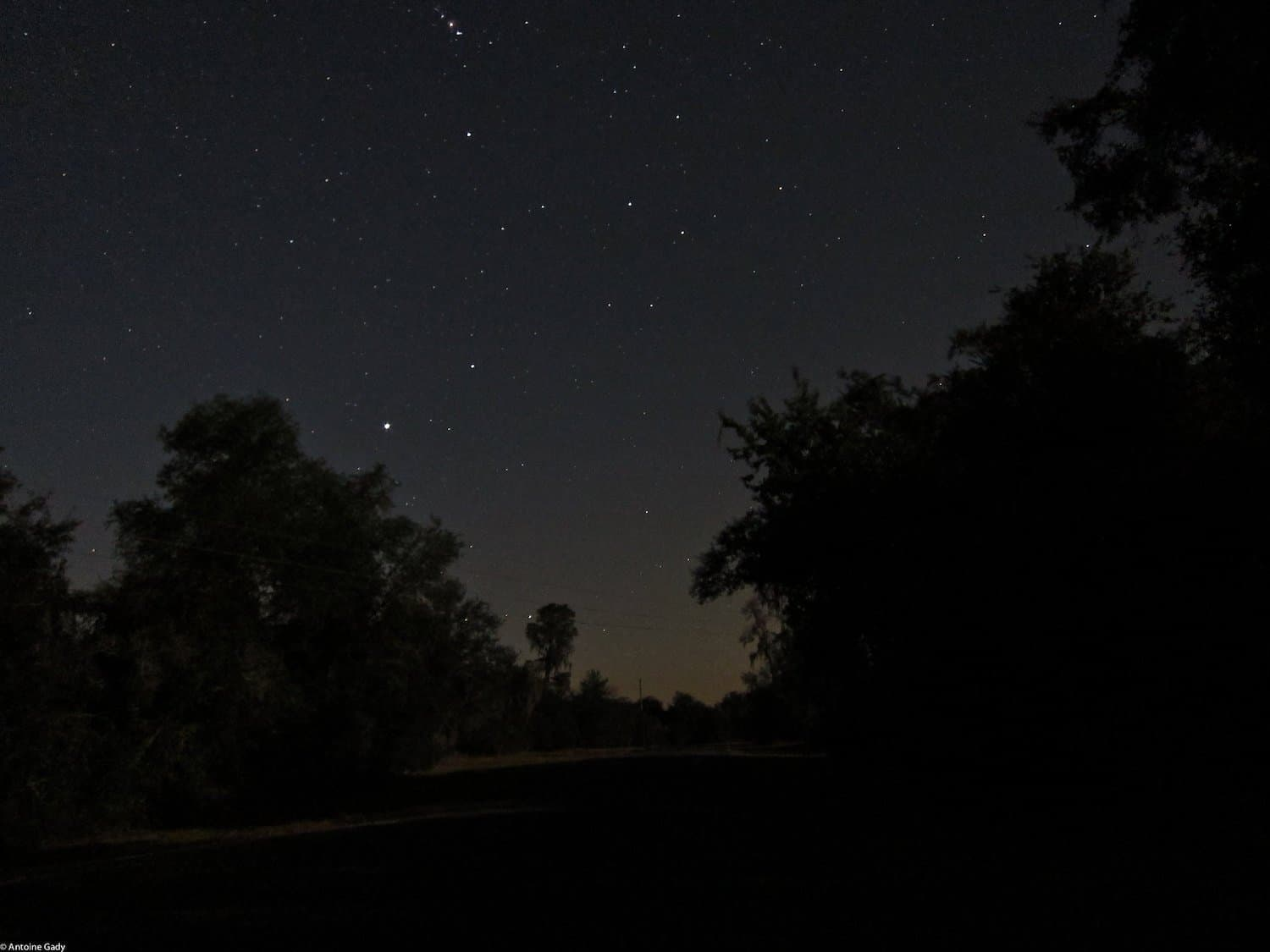 Stargazing in Florida - Ocala - Antoine Gady via Flickr