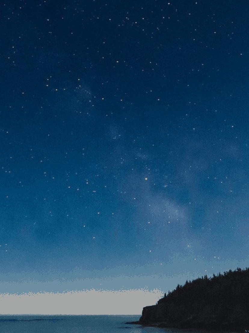 April Night Sky Hero