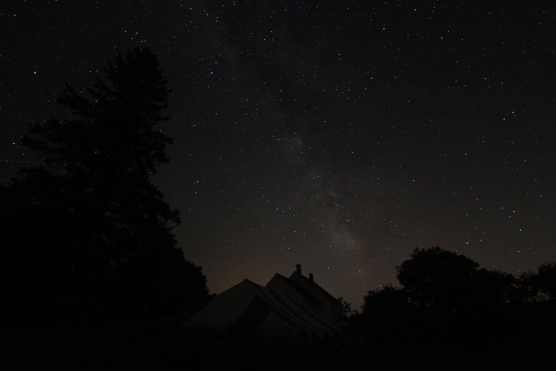 Stargazing in Maine - Damdragons