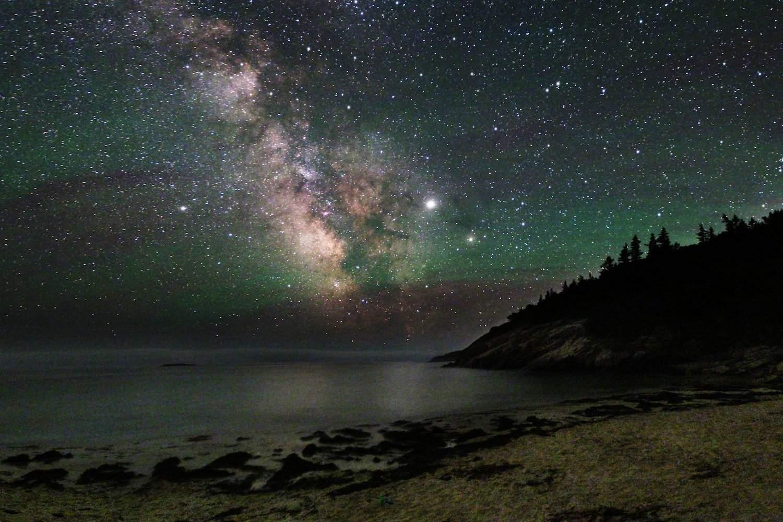 Stargazing in Maine - Valentin Lyakhovich
