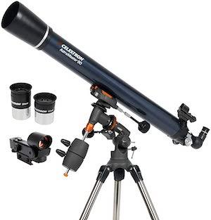 $300 Telescope Options - Celestron AstroMaster 90EQ