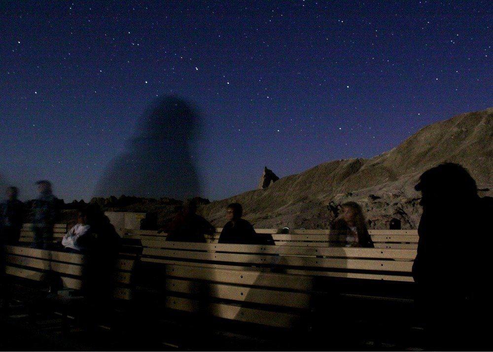 Stargazing in Badlands - Night Sky Viewing Program