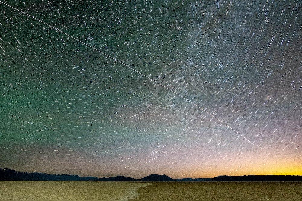 Alvord Desert Night Sky - Dee Brausch for Oregon DOT via Flickr