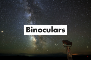 Binoculars Card