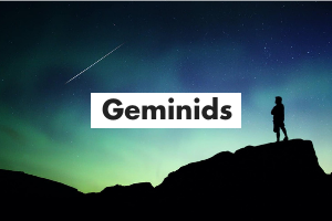 Geminids Card