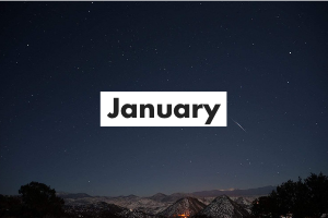 January Card