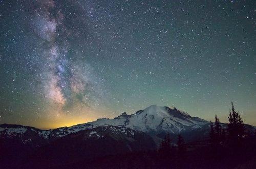 Mount Rainier Stargazing - Bala Sivakumar via Flickr