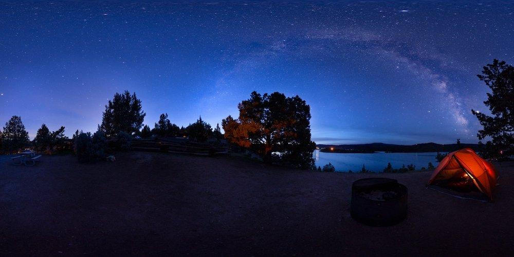Stargazing in Oregon - Prineville Reservoir State Park