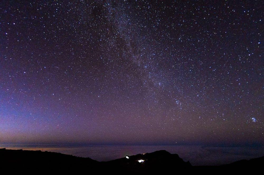 Haleakala Stargazing - Starry Sky - Brian Uhreen via Flickr