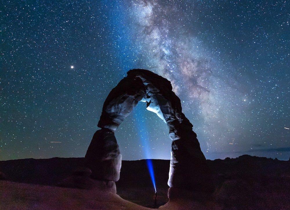 Stargazing in Utah - Arches National Park