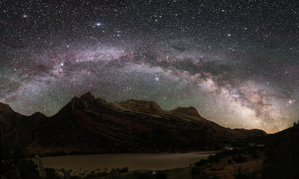 Stargazing in Utah - Dinosaur National Monument