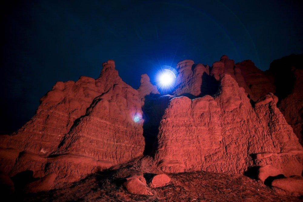 Stargazing in Utah - Goblin Valley State Park