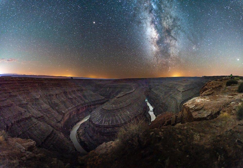 Stargazing in Utah - Goosenecks State Park