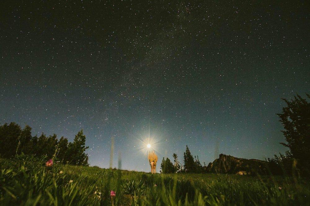 Stargazing in Washington - Rainier