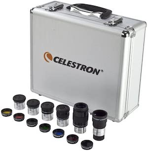 """Best Telescope Eyepieces - Celestron – 1.25"""" Eyepiece and Filter Accessory Kit"""