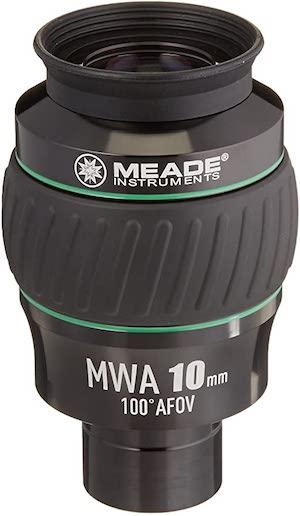 Best Telescope Eyepieces - Meade Instruments 100° 10mm Eyepiece