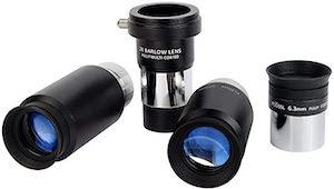 Best Telescope Eyepieces - SVBONY Telescope Eyepiece Set