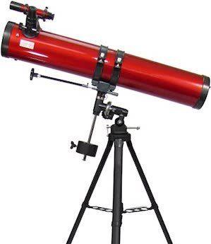 Telescopes Under $200 - Carson Red Planet 45-100x114mm Newtonian Reflector Telescope