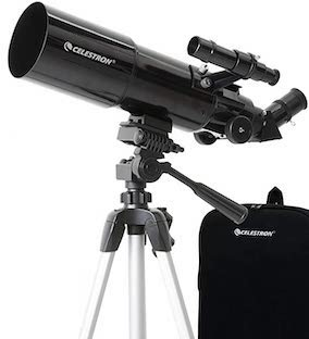 Telescopes under $200 - Celestron - 80mm Travel Scope