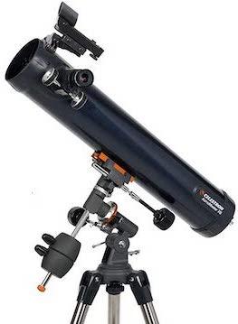 Telescopes under $200 - Celestron AstroMaster 76EQ